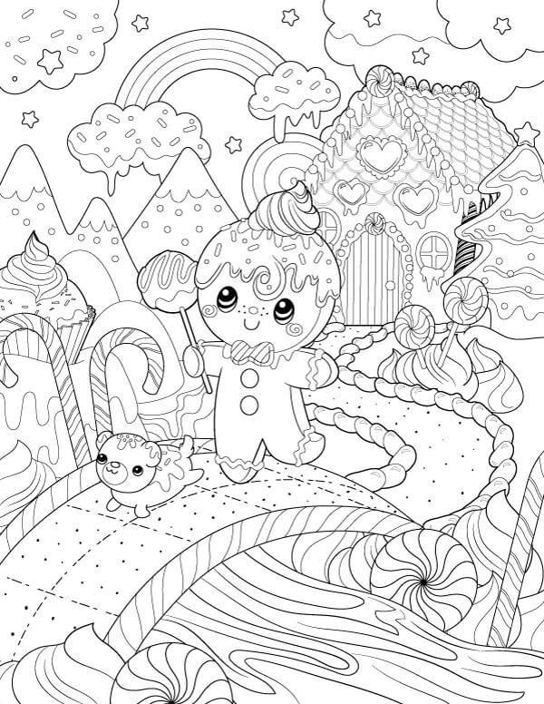 Free Holiday 2015 Coloring Page Mj Hsu Art